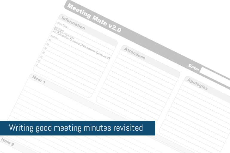 Featured - Meeting Minutes Revisited