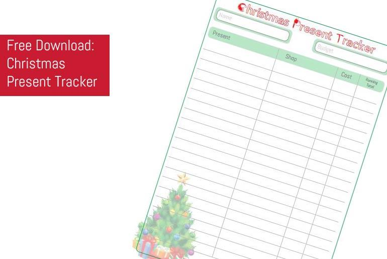 Free Download: Christmas Present Tracker