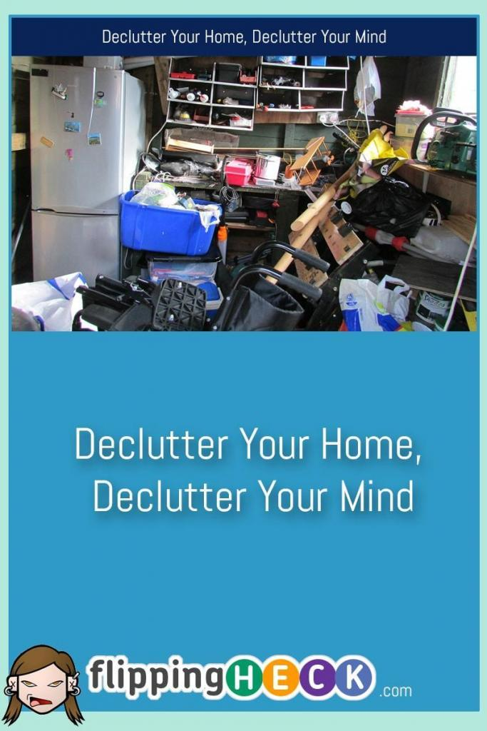 You might think that the clutter sitting in the corner of your room or that pile of