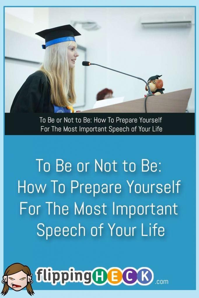 Sometimes we're required to step out of our comfort zone, stand in front of people and make a speech. In this article Justin Osbourne covers some of the ways you can prepare for your speech, and how you can deliver it in a way that keeps people entertained while still getting your message across.