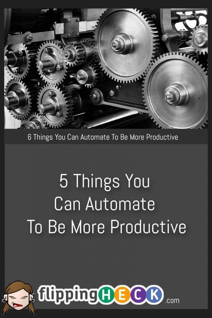 If you want to become even more productive then you need to learn to automate some routine tasks that take up a surprising amount of your time each week. From emails to shopping there's a way to automate almost everything and free up time for you to work on more important things