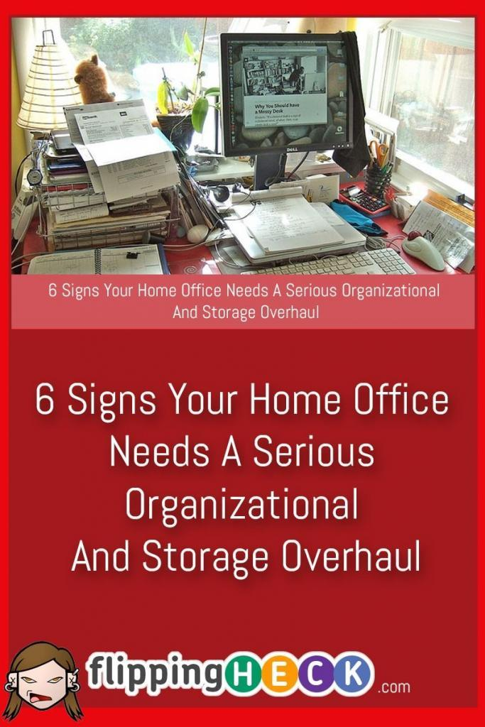 Is your home office as clean as it could be? Maybe you've gotten used to the fact that there are piles of paperwork everywhere, you can't find anything and that you have 17 staplers because you keep buying them as you can never find one when you need it! This article from Chris Humphrey gives you 6 signs to look for that you're in need of a home-office declutter.