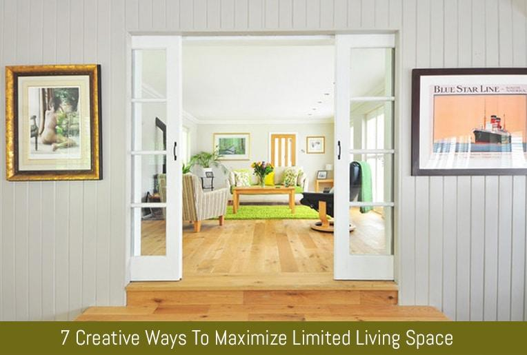 7 Creative Ways To Maximize Limited Living Space | Flipping Heck! Learning  To Be Productive One Day At A Time