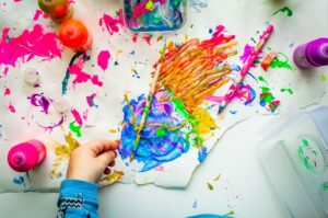 Cildn's colourful painting